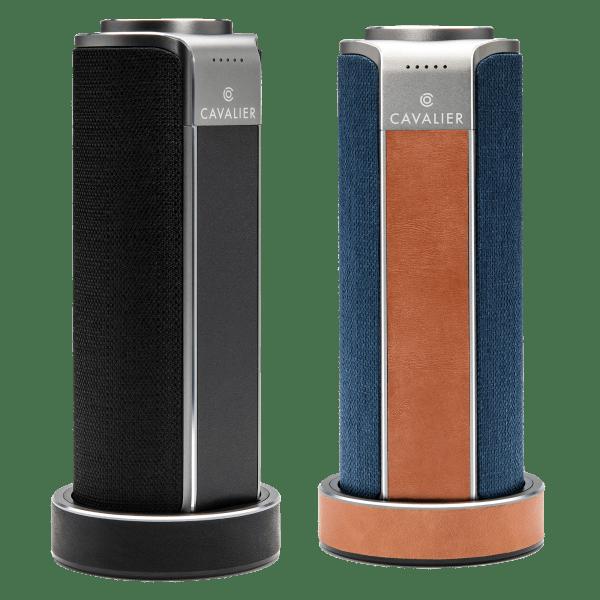 Cavalier Maverick Portable WiFi Speaker with Alexa & Charging Base