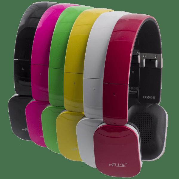 mPulse Rock Bluetooth On-Ear Headphones
