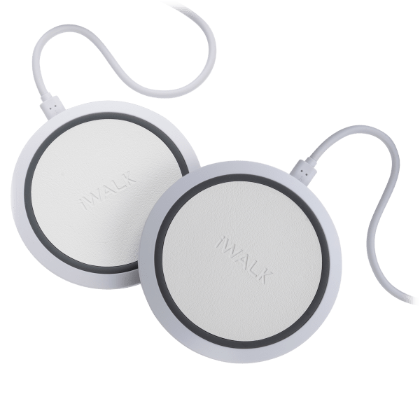 2-Pack: iWalk Faux Leather 7.5W/10W Quick Charge Wireless Chargers