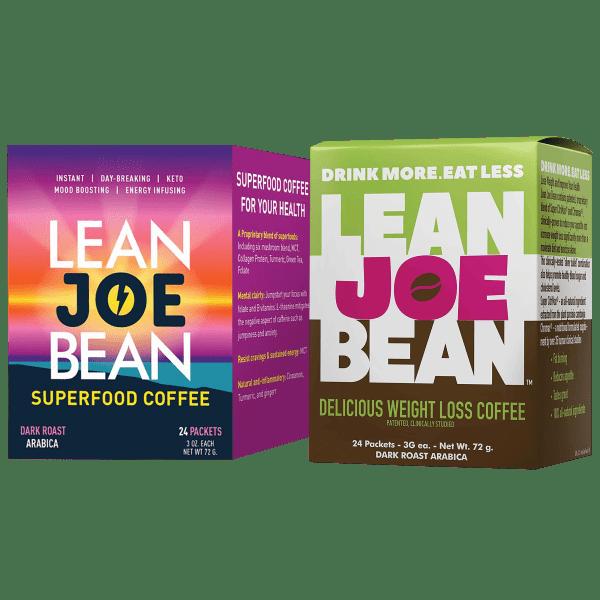 Lean Joe Bean Coffee - Your Choice Weight Loss or Super Food