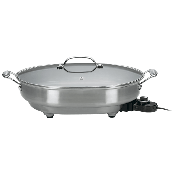 Cuisinart Nonstick Oval Electric Skillet
