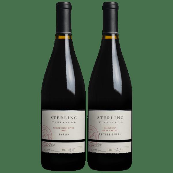 Sterling Vineyards Syrah & Petite Sirah