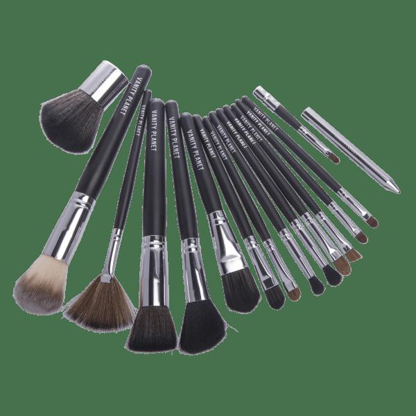 Vanity Planet 15 Piece Makeup Brush Set