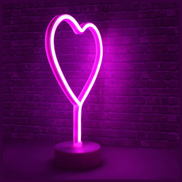 Hearth & Haven Decorative Fluorescent Light Neon Sign