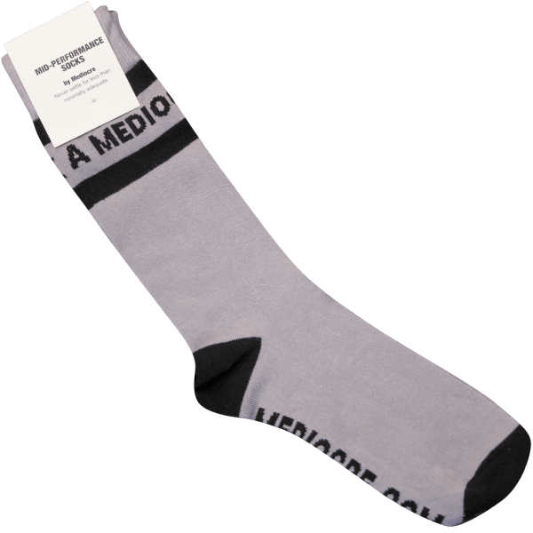 a mediocre sock (or two)