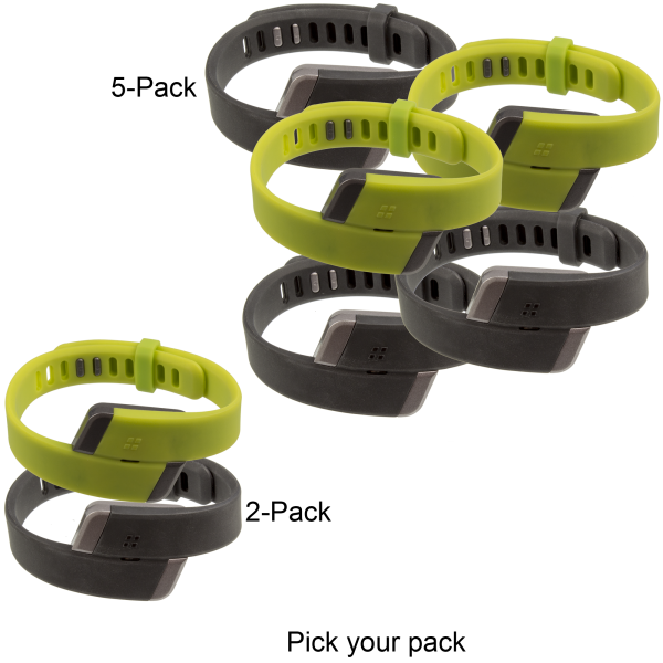 2-Pack or 5-Pack: Silvercrest Fitness Tracker