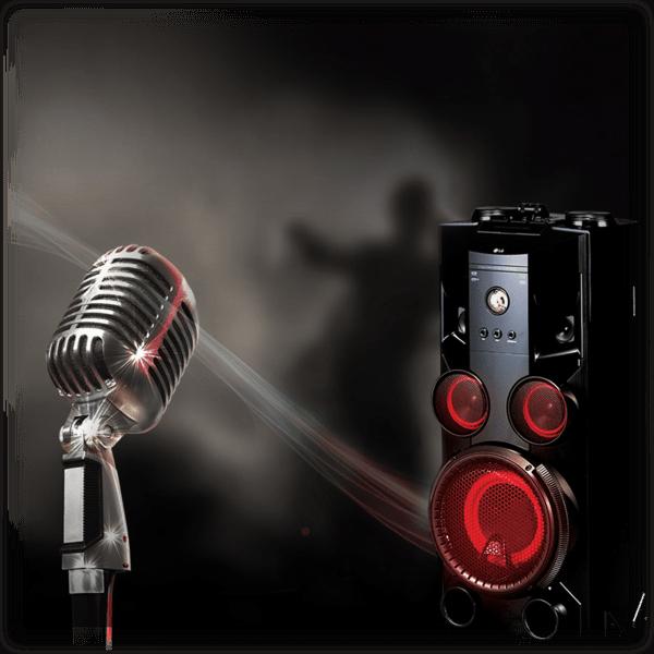 LG 1000W RMS Hi-Fi Entertainment & Karaoke System
