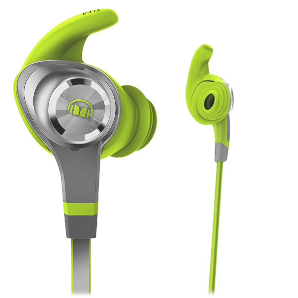 Monster iSport Intensity In-Ear Wireless Earbuds in Green (Certified Refurb)