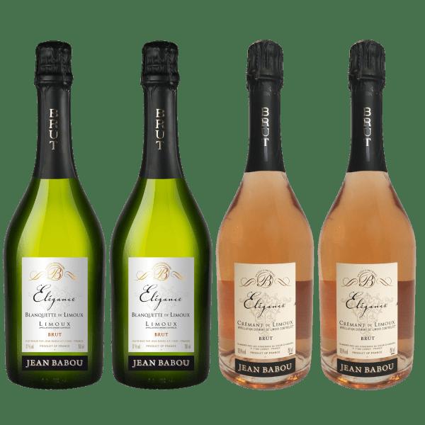 Jean Babou Elégance Mixed Brut Sparkling Wines