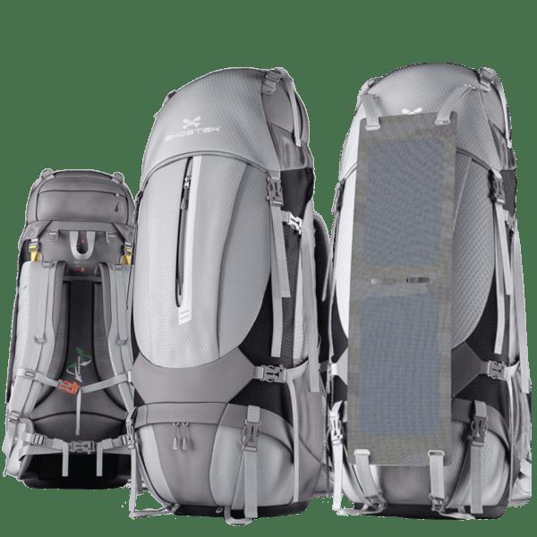 Ghostek NRGCamper 60L Solar Charging Backpack