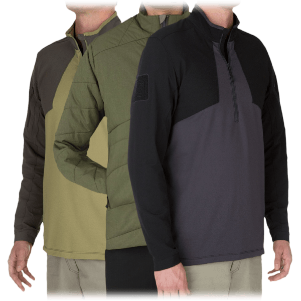5.11 Tactical Men's Pullover or Insulator Weather-Resistant Jackets