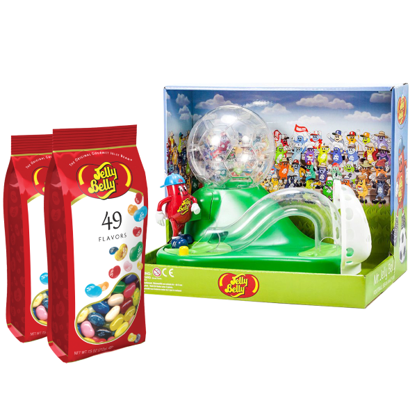 Mr. Jelly Belly Soccer Machine with 15oz of Jelly Beans