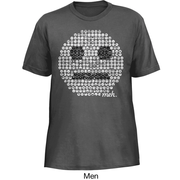 Meh: Year One Limited Edition Commemorative Collectors Shirt
