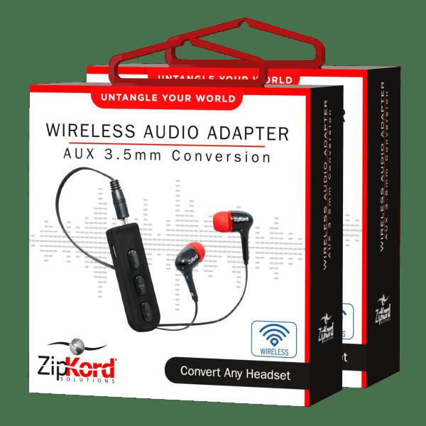 2-Pack: Zipkord 3.5mm Bluetooth Audio Adapters