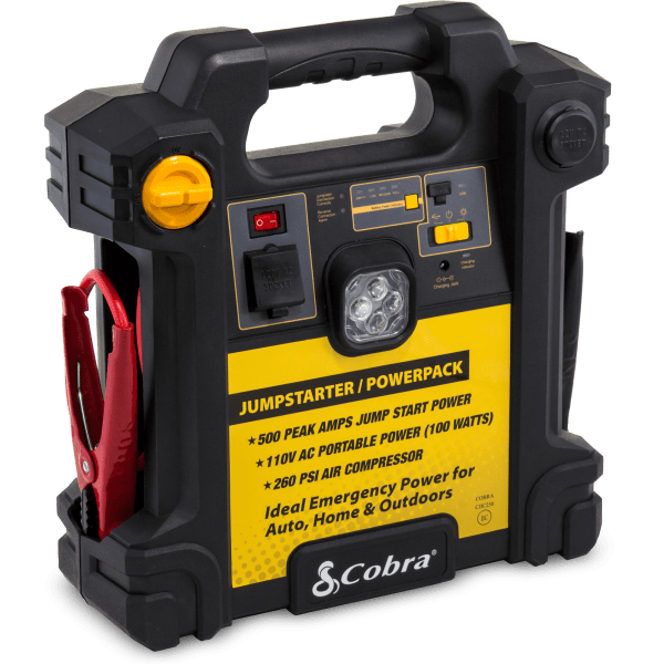 Cobra Portable Jump Starter & Air Compressor