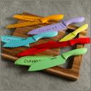 Cuisinart Advantage 12-Piece Ceramic Coated Color Knife Set