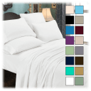 Luxury Home 6-Piece Luxurious Ultra Soft Microfiber Sheet Set