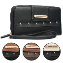 Stone Mountain Nappa Leather Charging Wallet