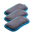 3-Pack e-cloth Washing Up Pads (Non-Scratch Kitchen Scrubbers)