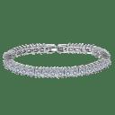 Hollywood Sensation Jasmine Princess Cut Tennis Bracelet