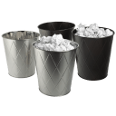 2-Pack: 8L Stainless Steel Waste Bin