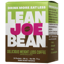 24-Pack: Lean Joe Bean Instant Keto Coffee for Weight Loss | Slimming & Detox