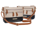 Stone Mountain Genuine Leather Charging Handbag