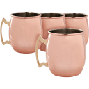 4-Pack: Cambridge Moscow Mule Mugs