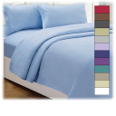 Lux Decor Collection Microfiber Embroidered Sheet Set