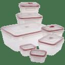 FreshClip Vented 14-Piece Food Storage Set with Locking Lids
