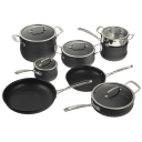 Cuisinart 13 Piece Contour Hard Anodized Cookware Set