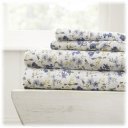 iEnjoy Home Premium The Blossoms Pattern 4-Piece Sheet Set