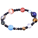Golden NYC Jewelry Galaxy of the Universe Bracelet
