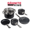 Granite King 10-Piece Nonstick Cookware Set