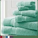 Spirit Linen 100% Cotton Plush 6-Piece Towel Sets