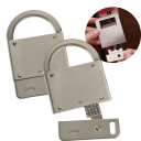 2-Pack: Quirky Flat Padlock