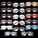 2-Pack: BluVue Blue Light Blocking Glasses