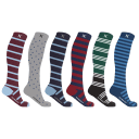 6-Pack: Extreme Fit Athletic Graduated Compression Socks