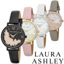 Laura Ashley Ladies Round Floral Watch