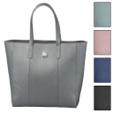 Joy Mangano Metallic Leather Tote
