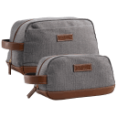 2-Piece Fit & Fresh Men's Toiletry Bags