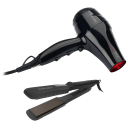 Jose Eber Quickshine Infrared Dryer with Wet & Dry Flat Iron Combo