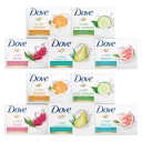 15-Pack: Dove Bar Soap Variety Bundle