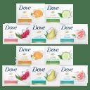 15-Pack: Dove Bar Soap Variety Bundle