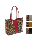 La Terre Fashion Leopard Print Tote (Small)
