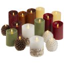 2-Pack: Luminara® Real-Flame Effect LED Candles