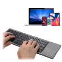 Foldable Bluetooth Wireless Touch Keyboard