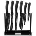 7-piece Cuisinart Black Nonstick Cutlery Set