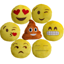 "Ultra Plush 13"" Emoji Pillows"
