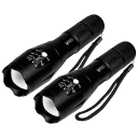 2-Pack EliteTac Tactical LED Flashlights